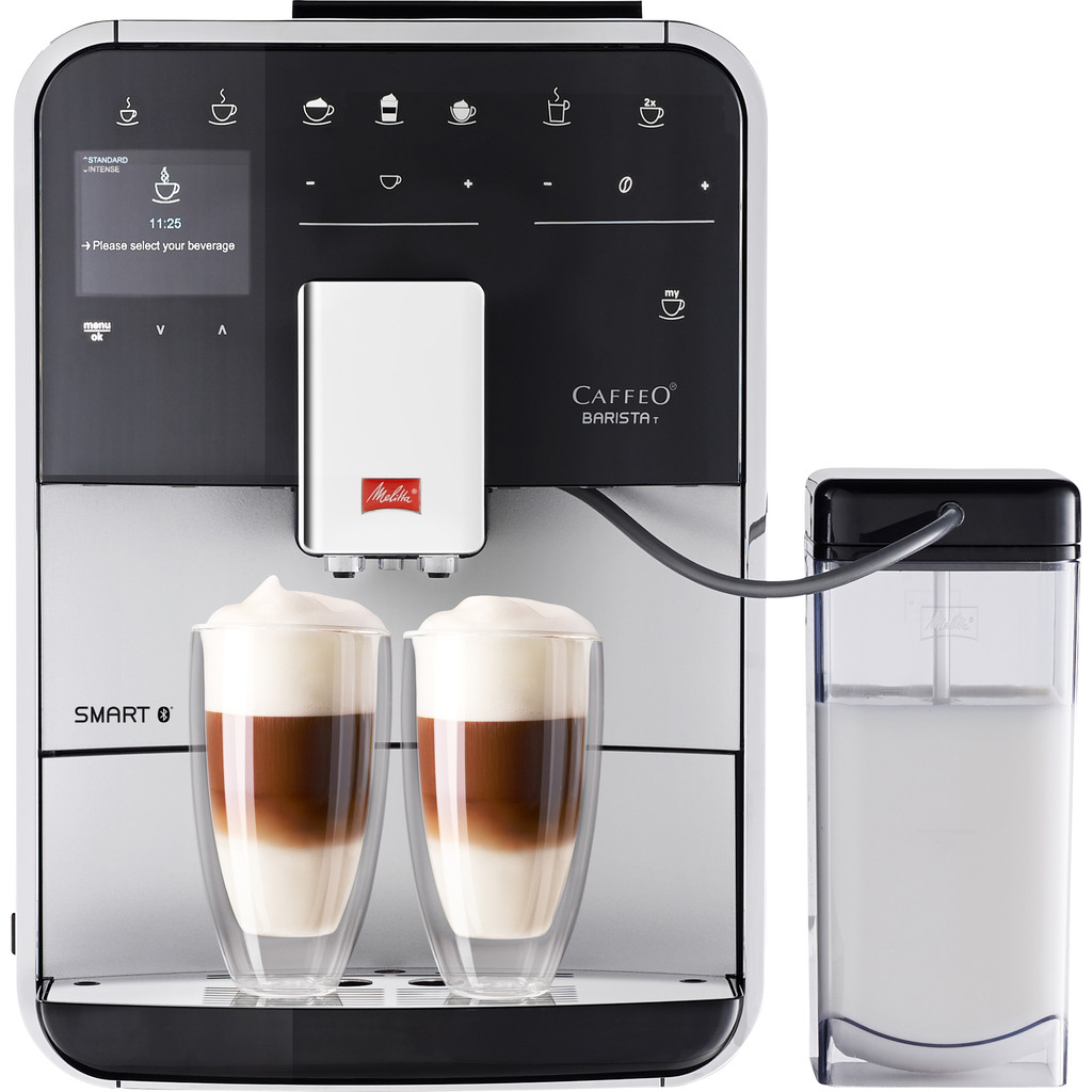 Melitta Barista T Smart Zilver in Neerloon