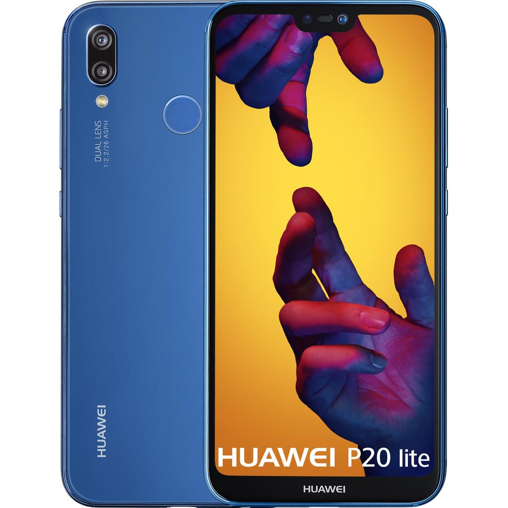 Huawei P20 Lite Blauw in Tongerlo