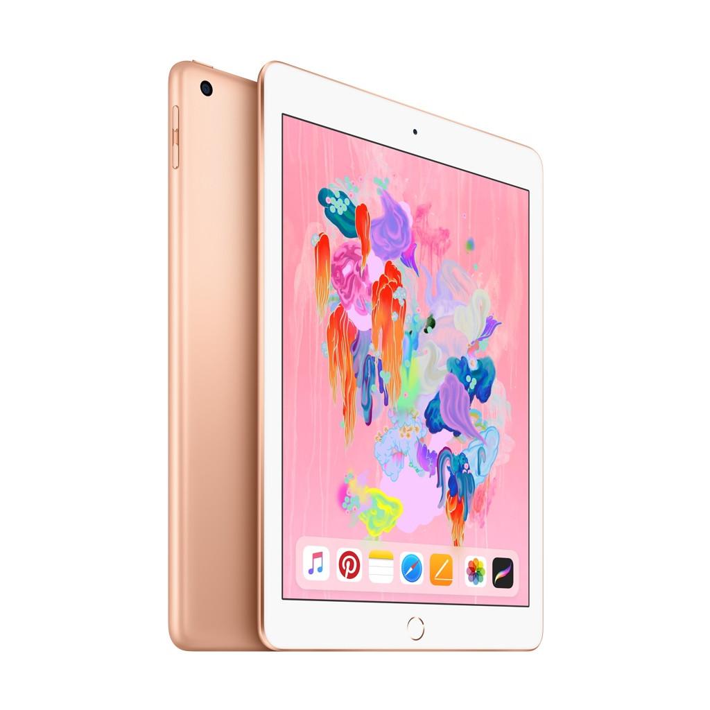 Afbeelding van Apple iPad 2018 WiFi 128GB Gold tablet