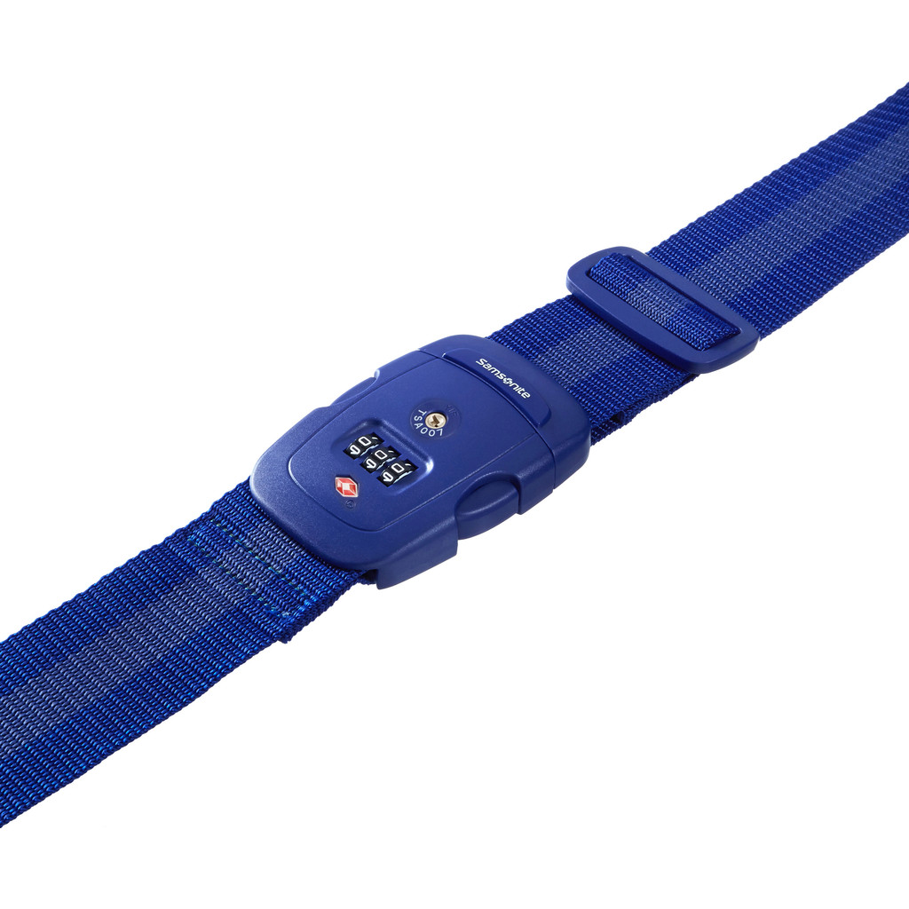 Samsonite Safe US3 Combi Luggage Strap 2 Indigo Blue in Lierneux