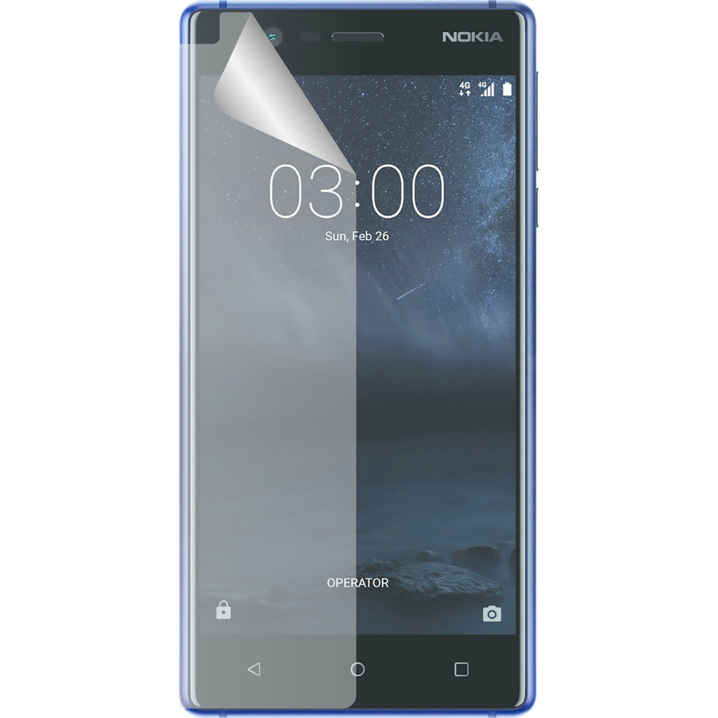 Azuri Nokia 3 screenprotector Plastic Duo Pack kopen