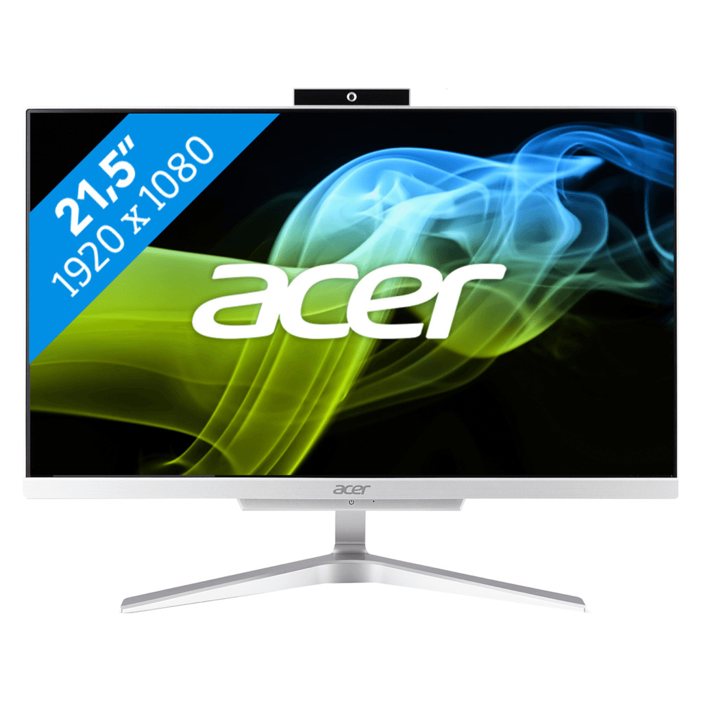Afbeelding van Acer Aspire C22 860 I5008 NL All in One desktop