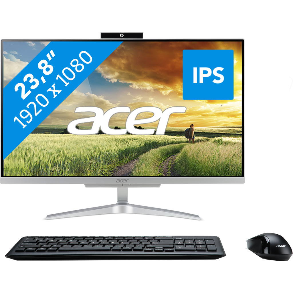 Acer Aspire C24-860 I7628 NL All-in-One in Herveld-Noord