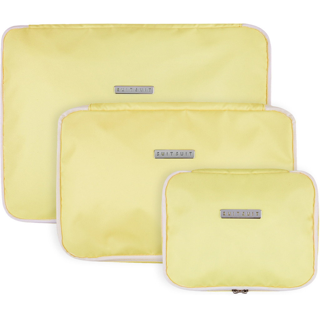 SUITSUIT Fabulous Fifties Packing Cube Set (S-M-L) Mango Cream kopen