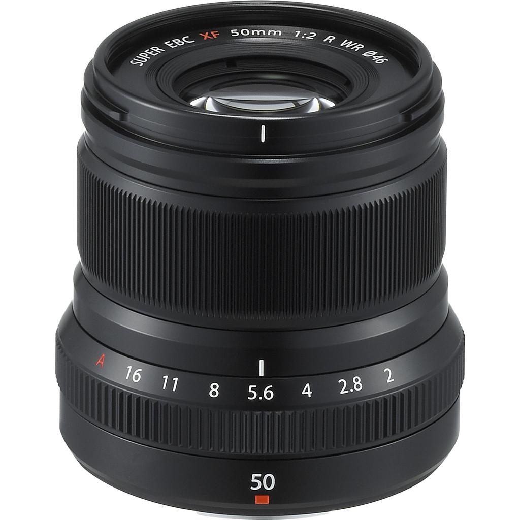 Fujifilm XF 50mm F-2.0 WR zwart