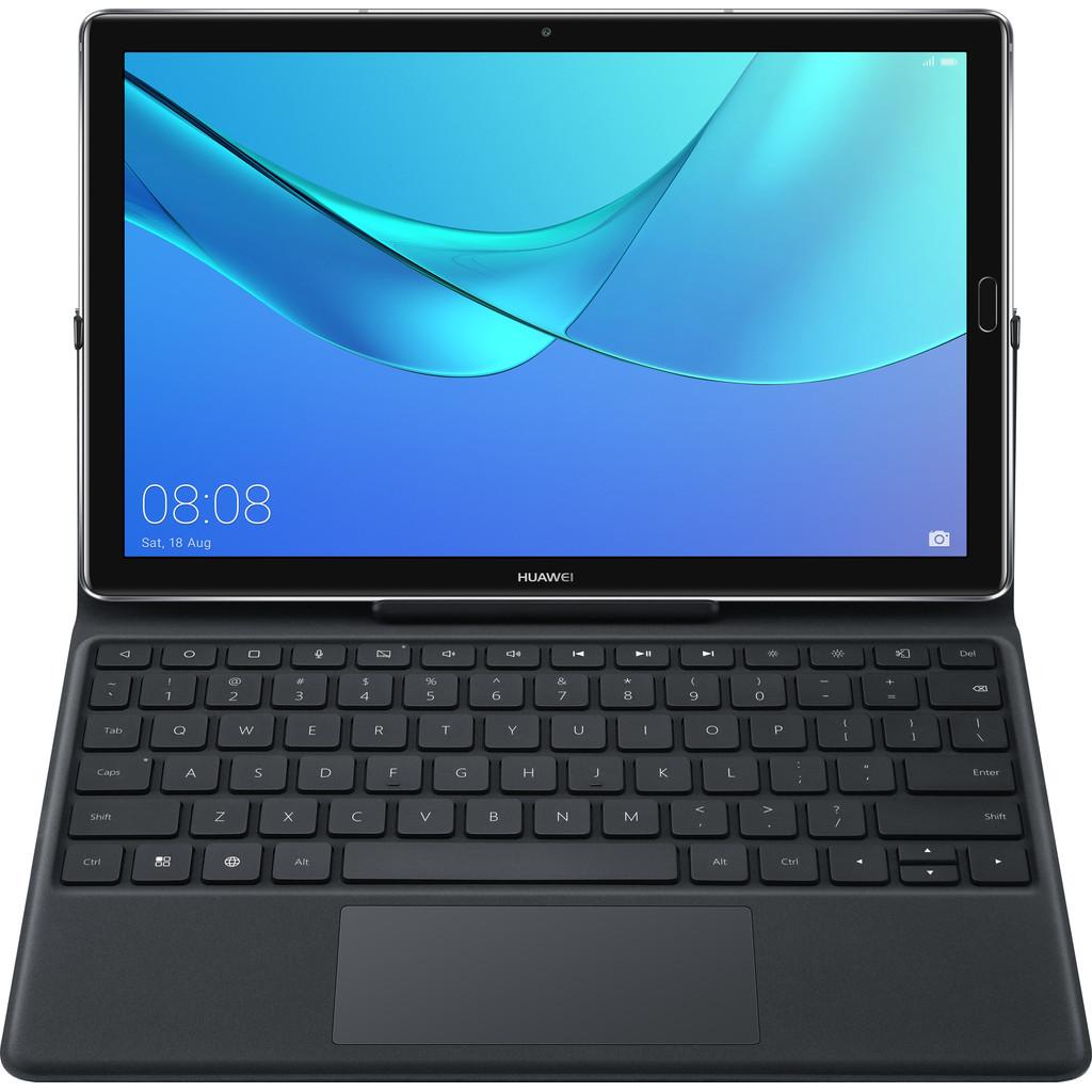 Huawei MediaPad M5 10,8 inch US Tablethoes met Toetsenbord Zwart in Broek