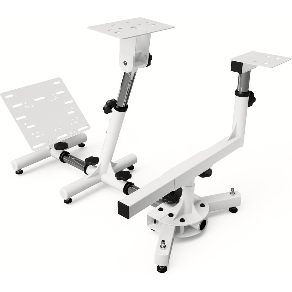 Afbeelding van Arozzi Velocita Racing Platform Wit gaming stoel