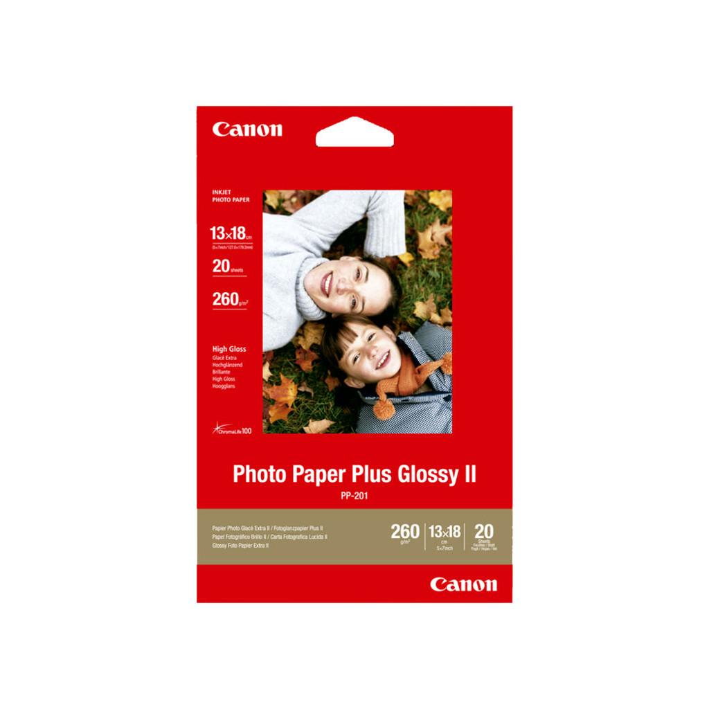 Canon PP-201 Glossy Plus Fotopapier 20 Vellen 13 x 18 cm in Hengelo