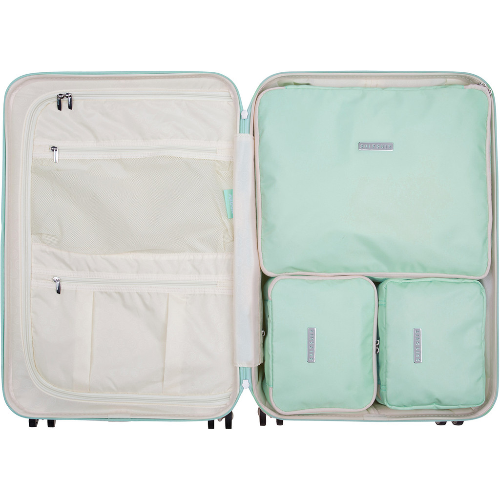 SUITSUIT Fabulous Fifties Packing Cube Set 66cm Luminous Mint kopen