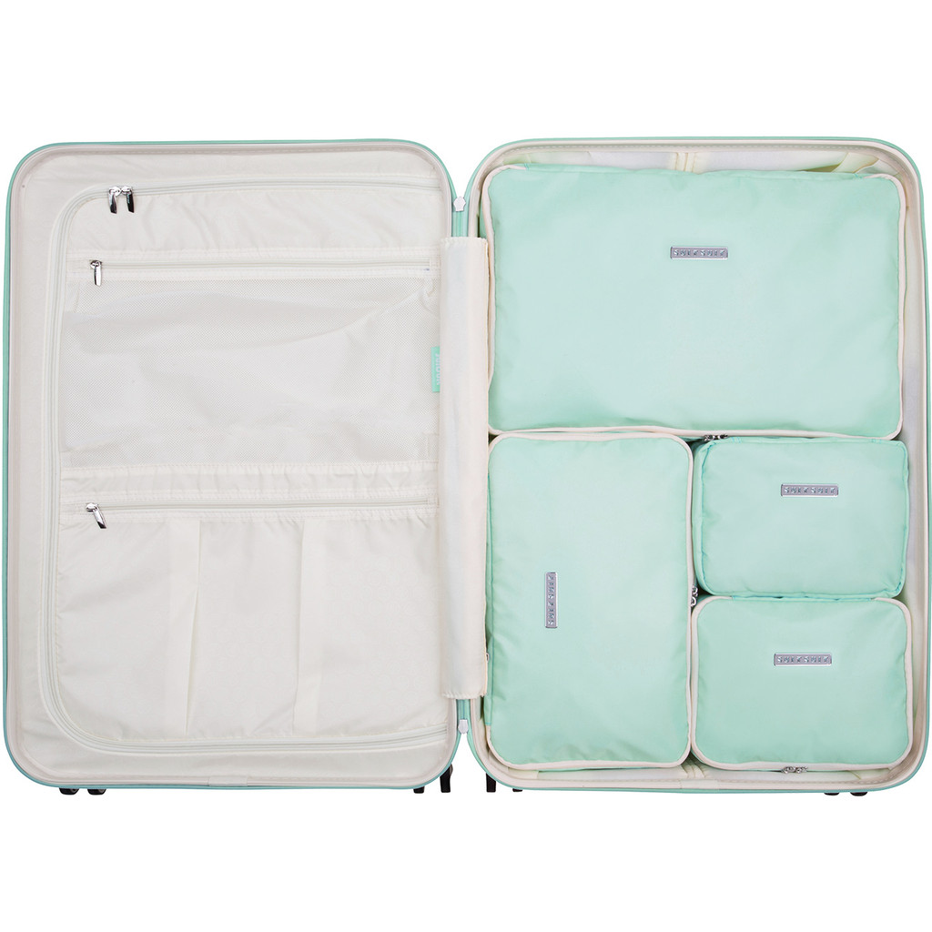SUITSUIT Fabulous Fifties Packing Cube Set 76cm Luminous Mint kopen