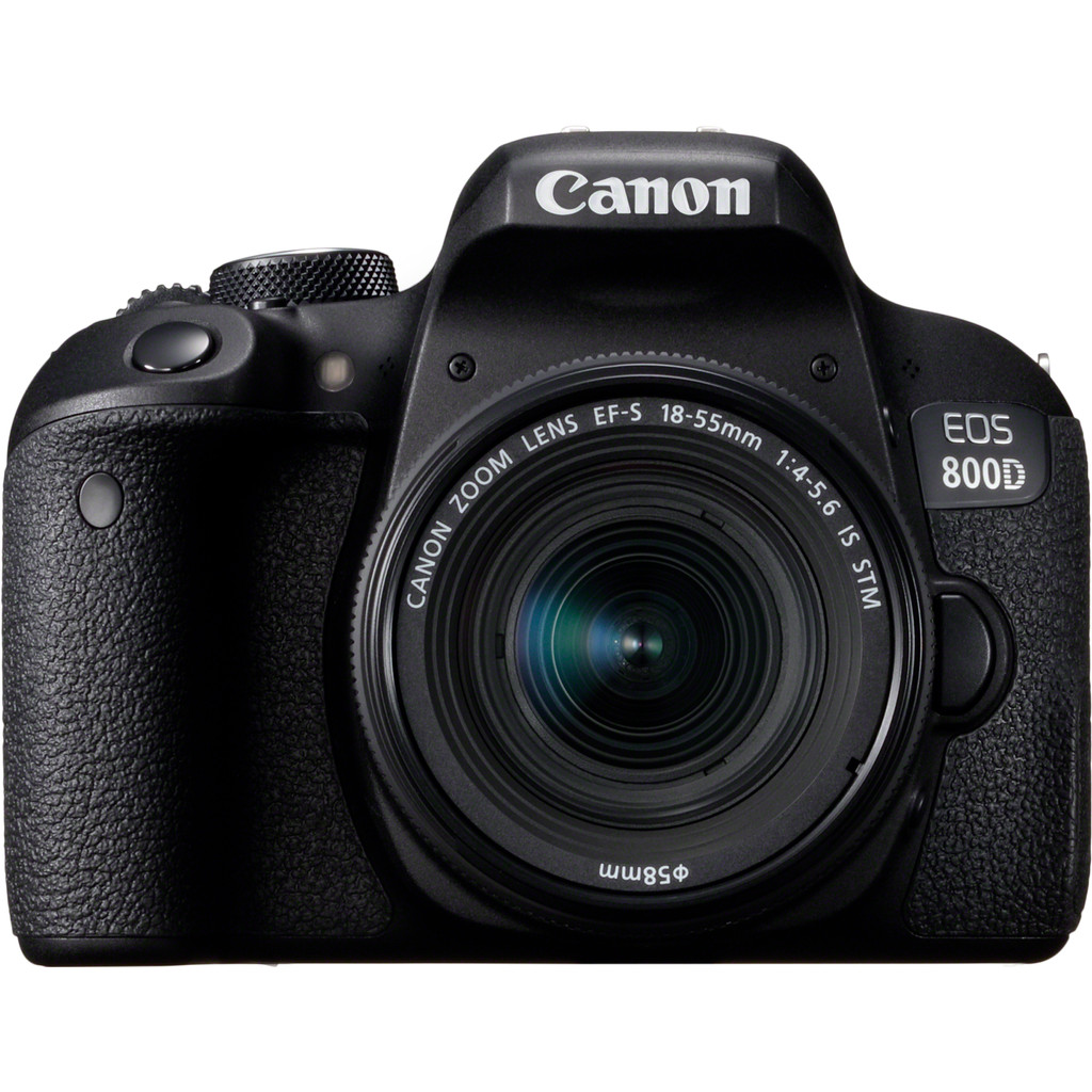 Canon EOS 800D DSLR + 18-55mm f-4.0-5.6 IS STM