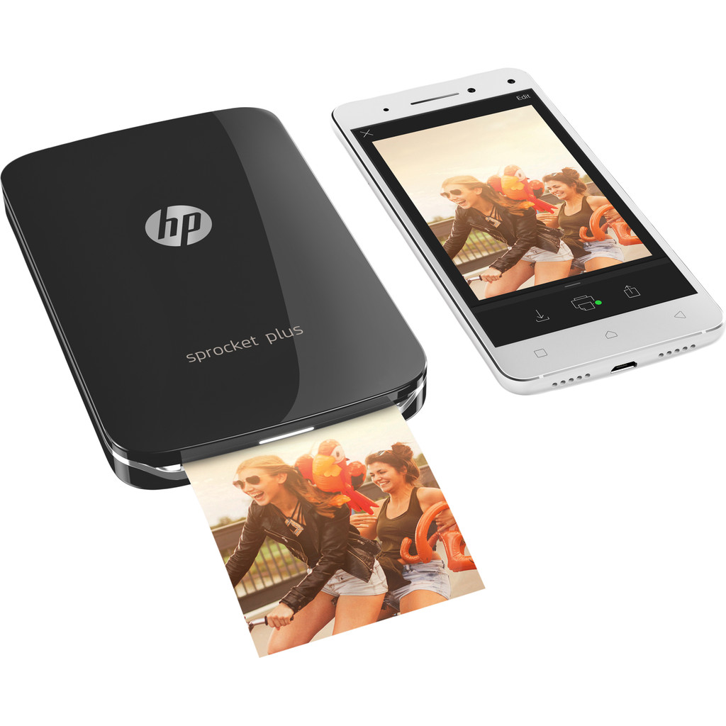 HP Sprocket Plus 2FR86A Zwart in Budingen