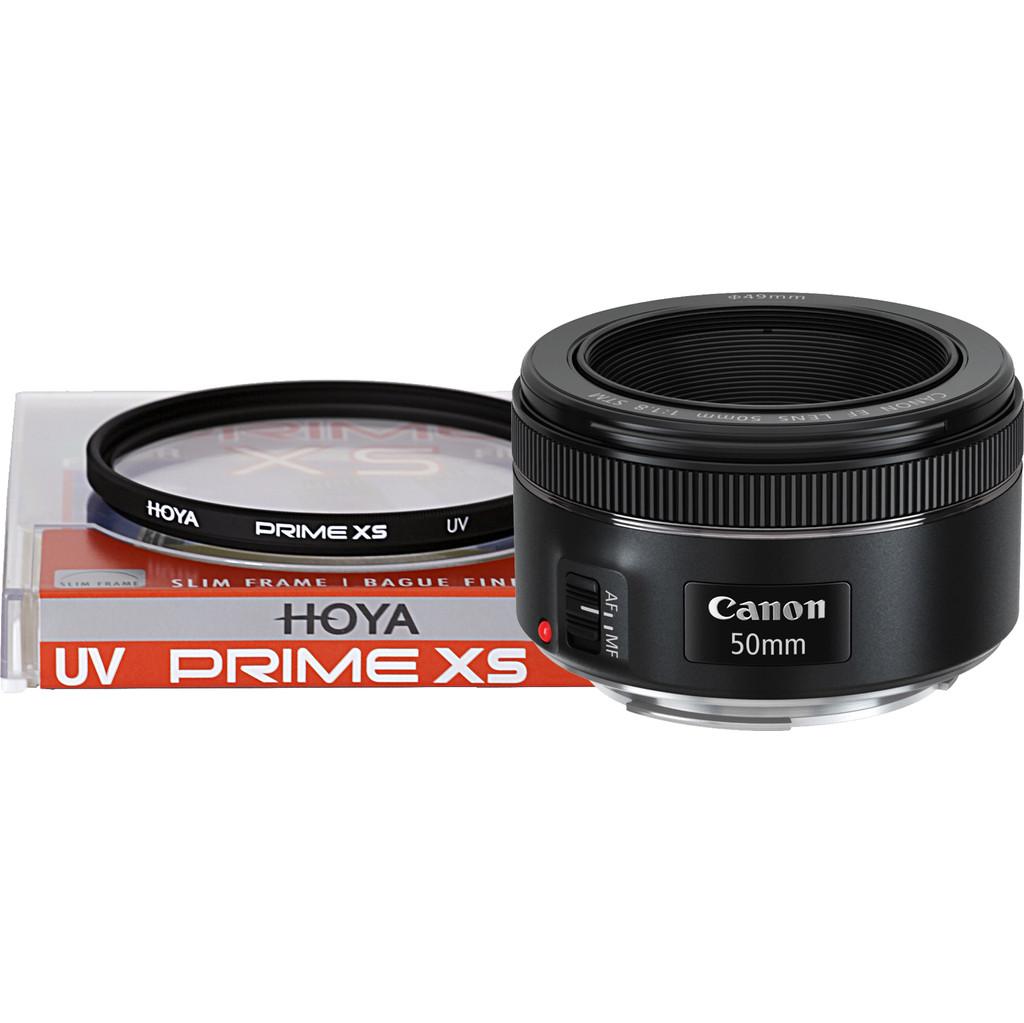 Canon EF 50mm f/1.8 STM + UV-filter
