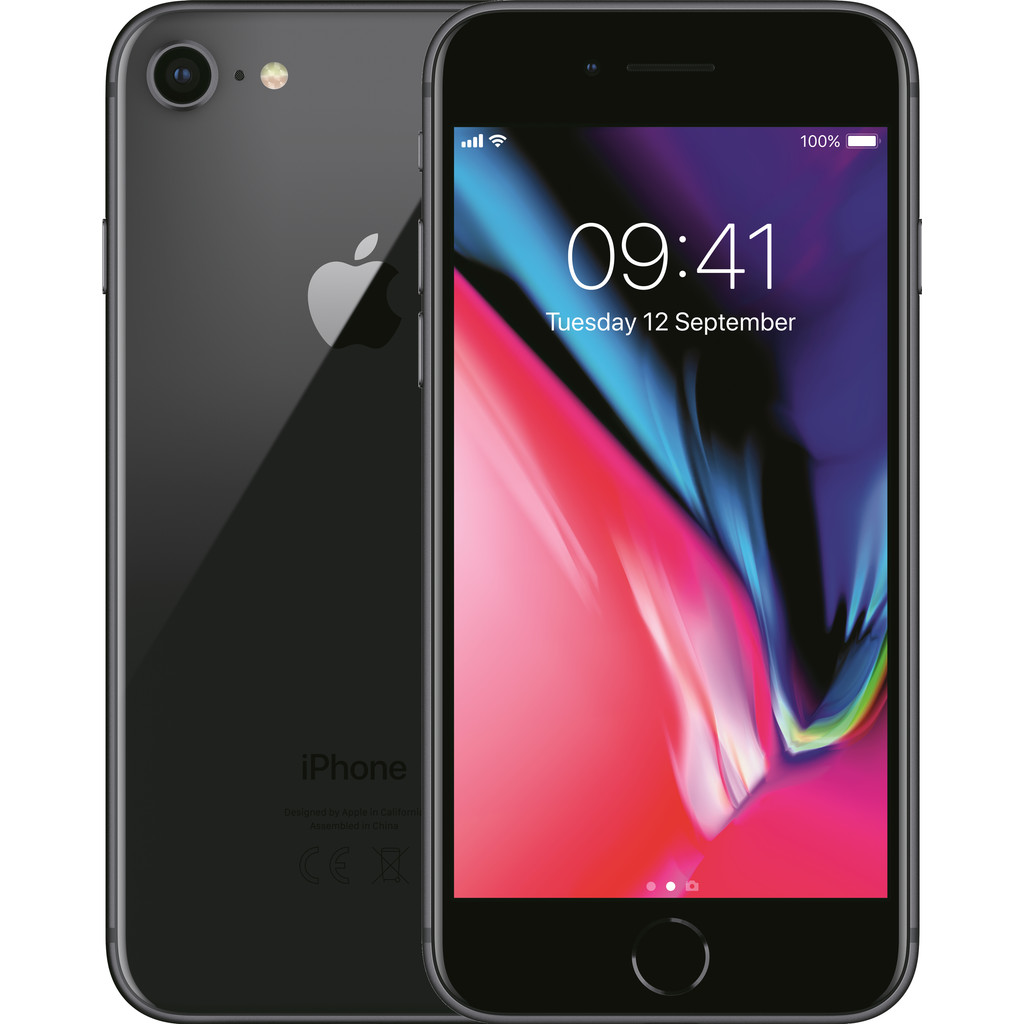 Apple iPhone 8 64GB Space Gray-64 GB opslagcapaciteit  4,7 inch Retina HD scherm  iOS 11