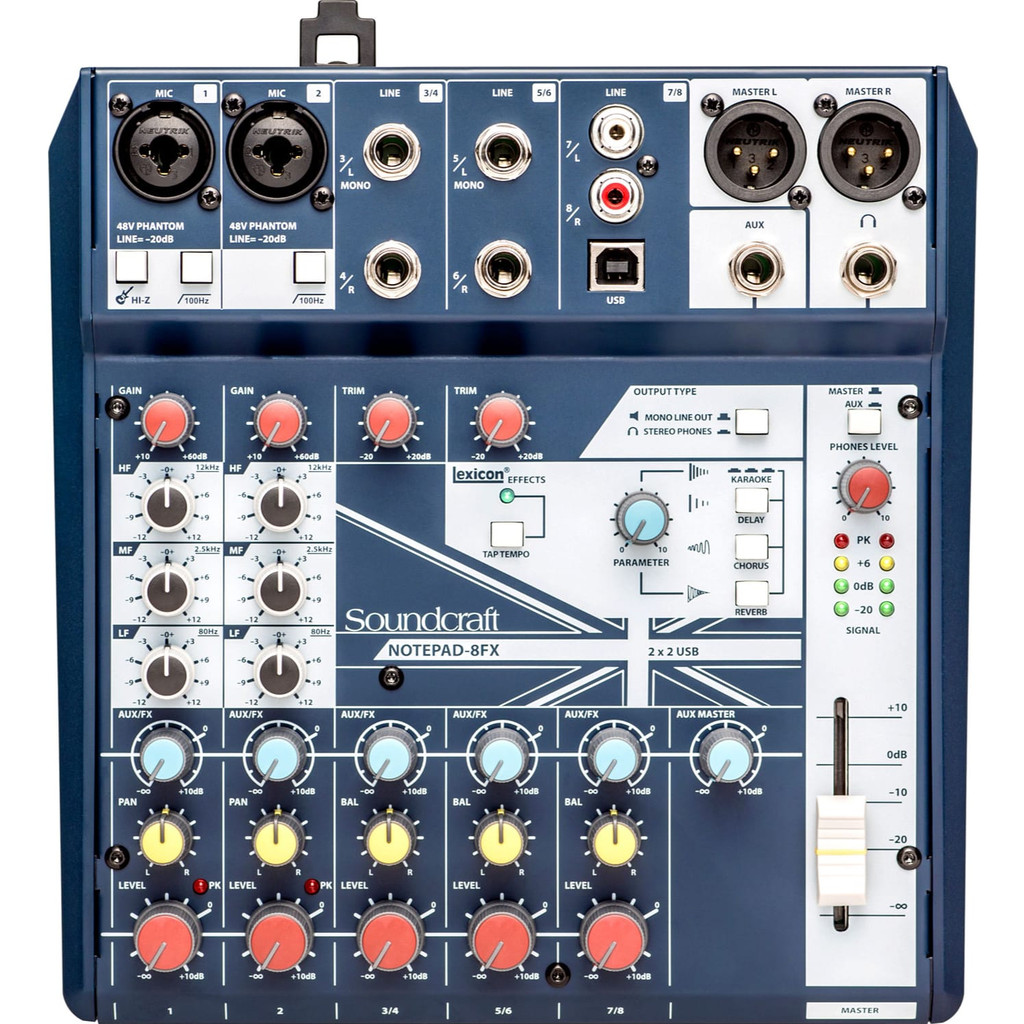 Soundcraft Notepad-8FX in Genly