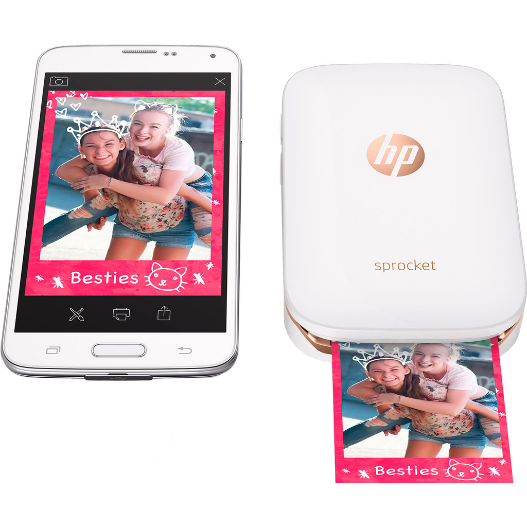 HP Sprocket Z3Z91A Wit in Griendtsveen
