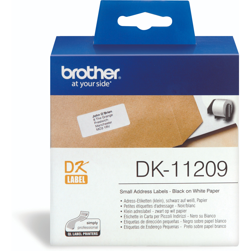Brother DK-11209 Labels (29 x 62 mm) 1 Rol in Sint-Lambrechts-Herk
