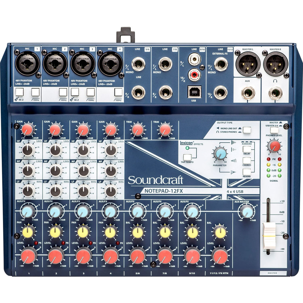 Soundcraft Notepad 12FX in Overhespen