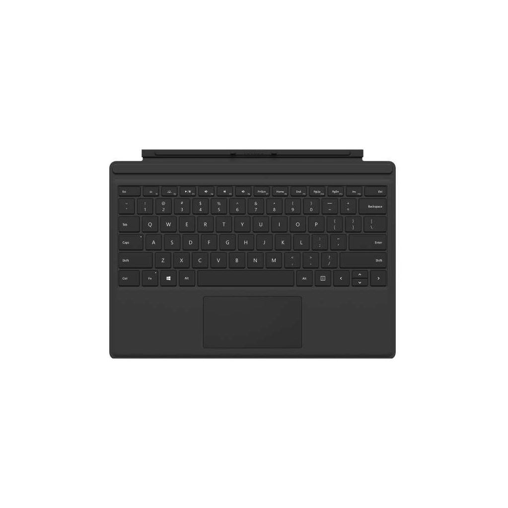 Microsoft Surface Pro Type Cover Qwerty Zwart in Westkerke