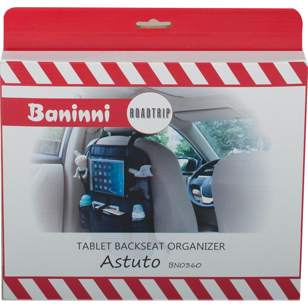 Baninni Tablet Backseat Organizer Astuto in Posterenk