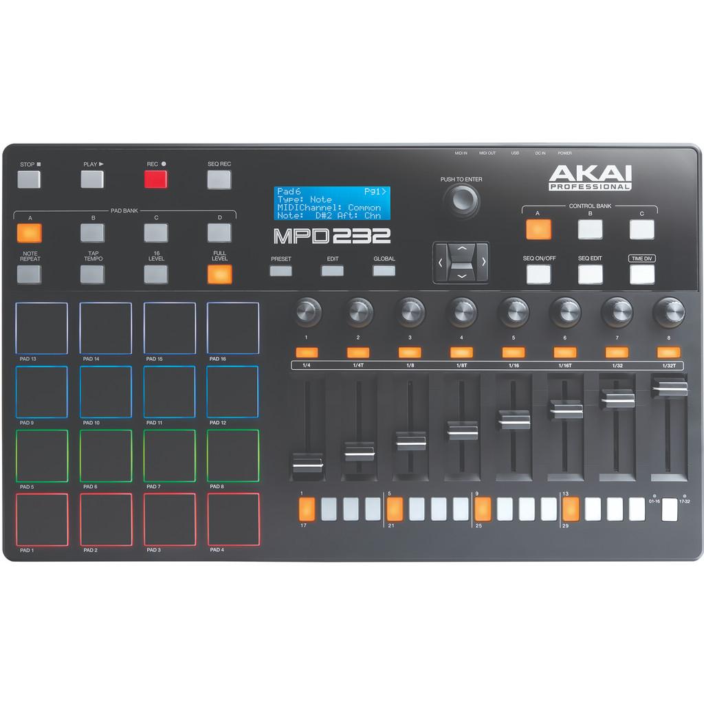 AKAI MPD232 USB-MIDI-controller
