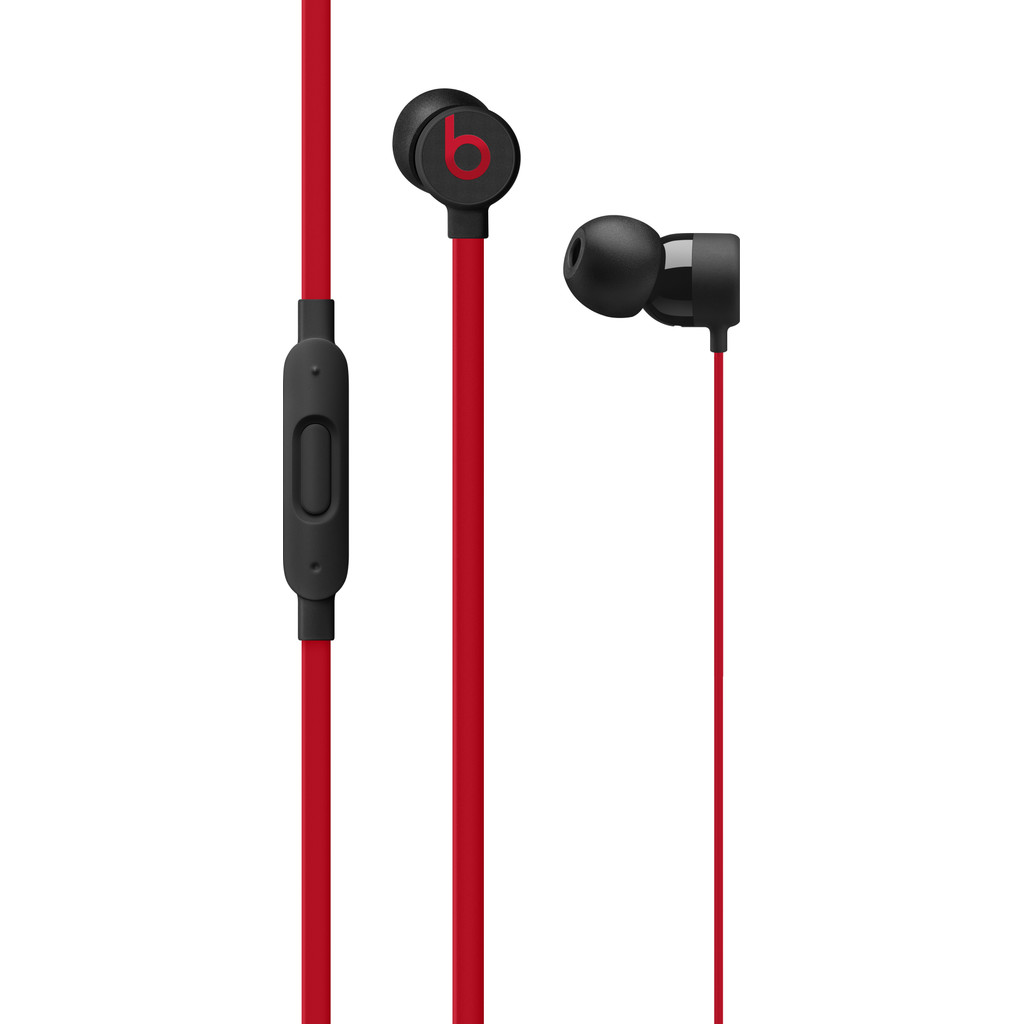 Beats urBeats3 Lightning Decade Collection Zwart-Rood