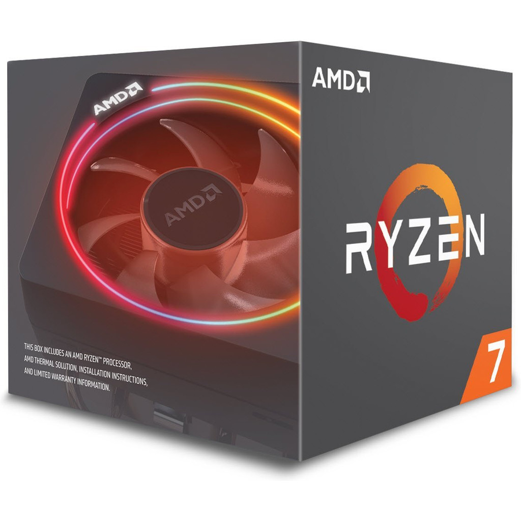 AMD Ryzen 7 2700X in Manage