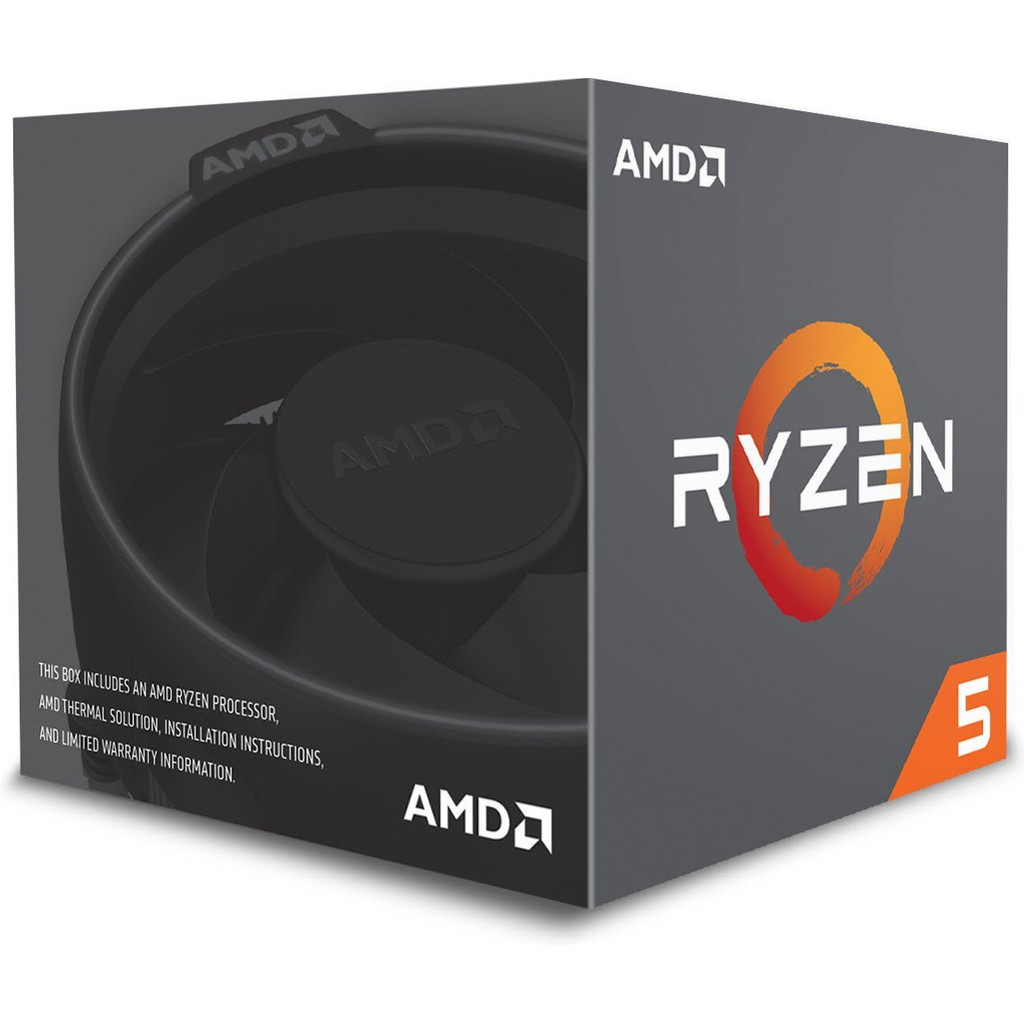 Afbeelding van AMD Ryzen 5 2600 processor