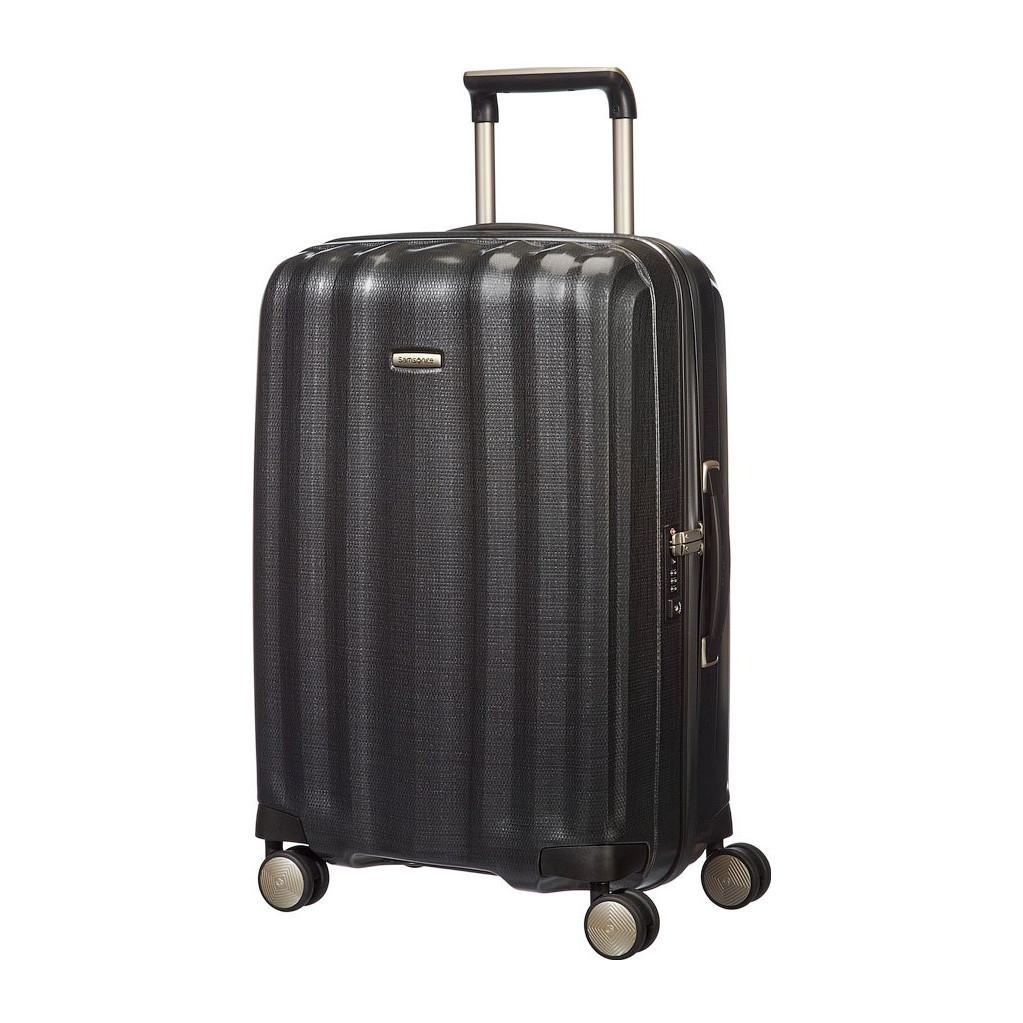 Samsonite Lite-Cube Spinner 76 black Harde Koffer