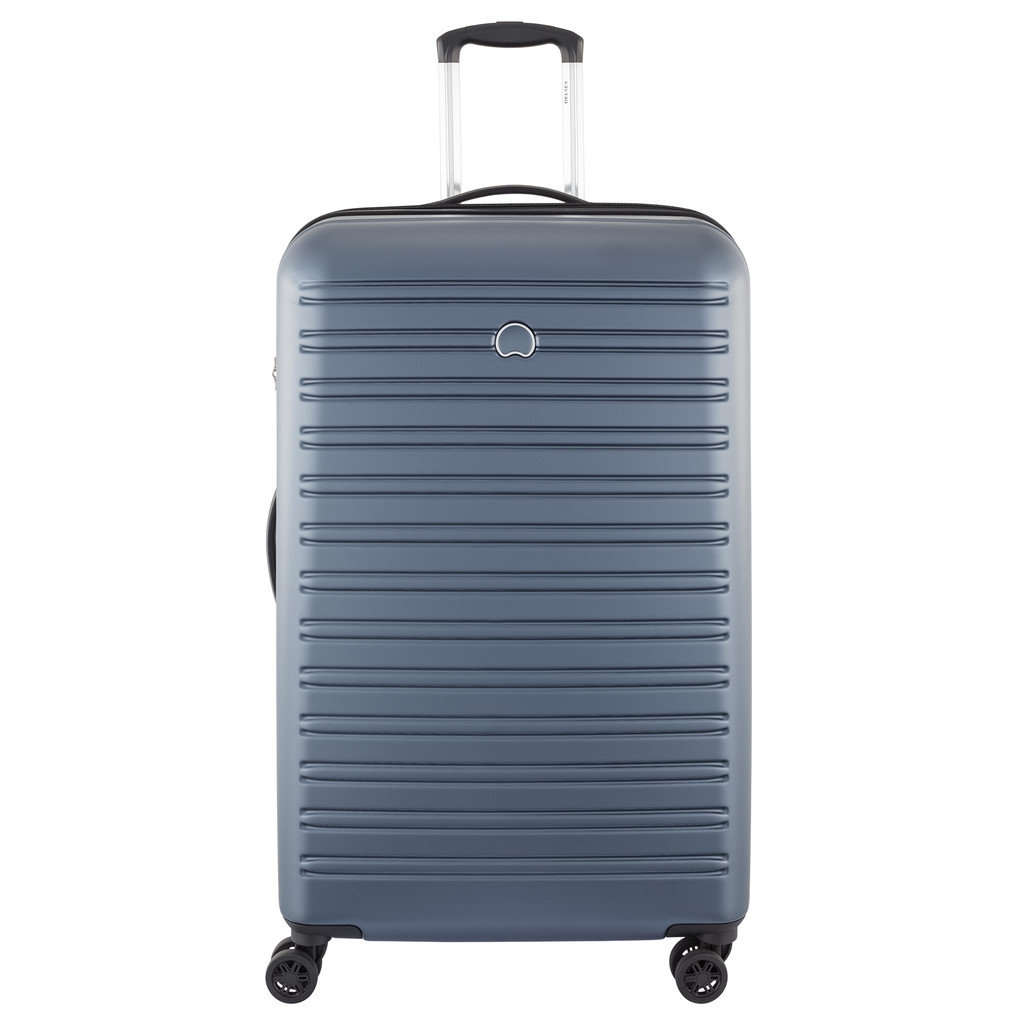 Delsey Segur 4 Wheel Trolley Case 78 cm Blue