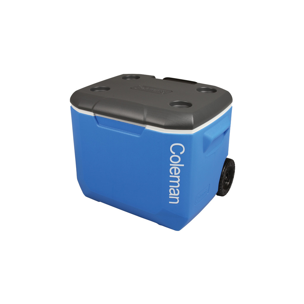 Coleman 60 Qt Performance Wheeled Cooler Tricolor - Passief in Flostoy