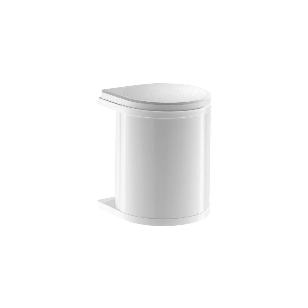 Afvalemmer Hailo Mono 15 liter 3515-00 wit
