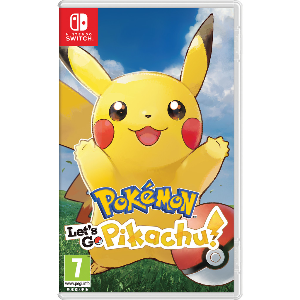 Pokemon Let's Go Pikachu Switch kopen