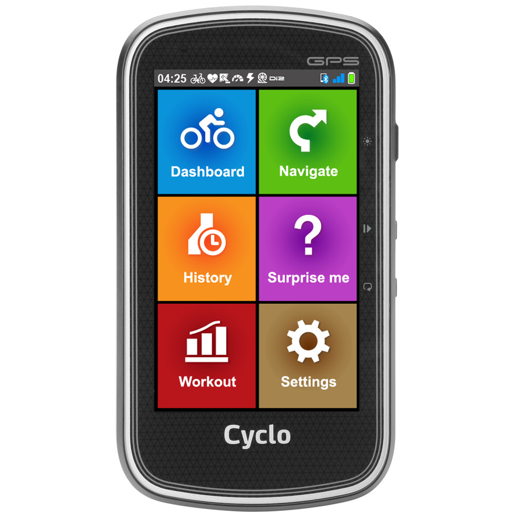 MIO Cyclo 405HC fietsnavigatie Europa