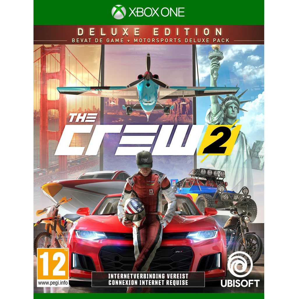 The Crew 2 Deluxe Edition Xbox One in Vlaas