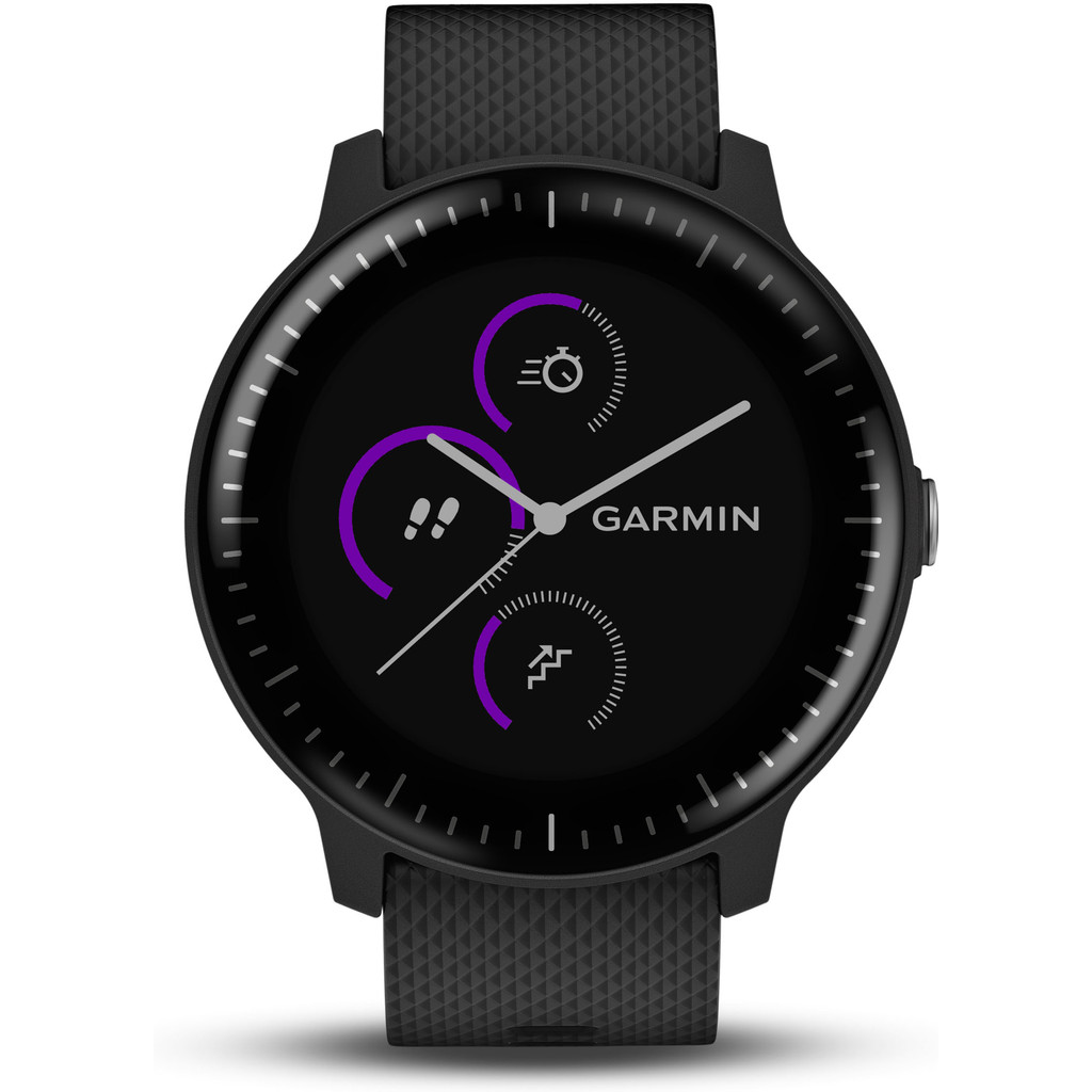 Garmin Vivoactive 3 Music Zwart in Egmond aan Zee
