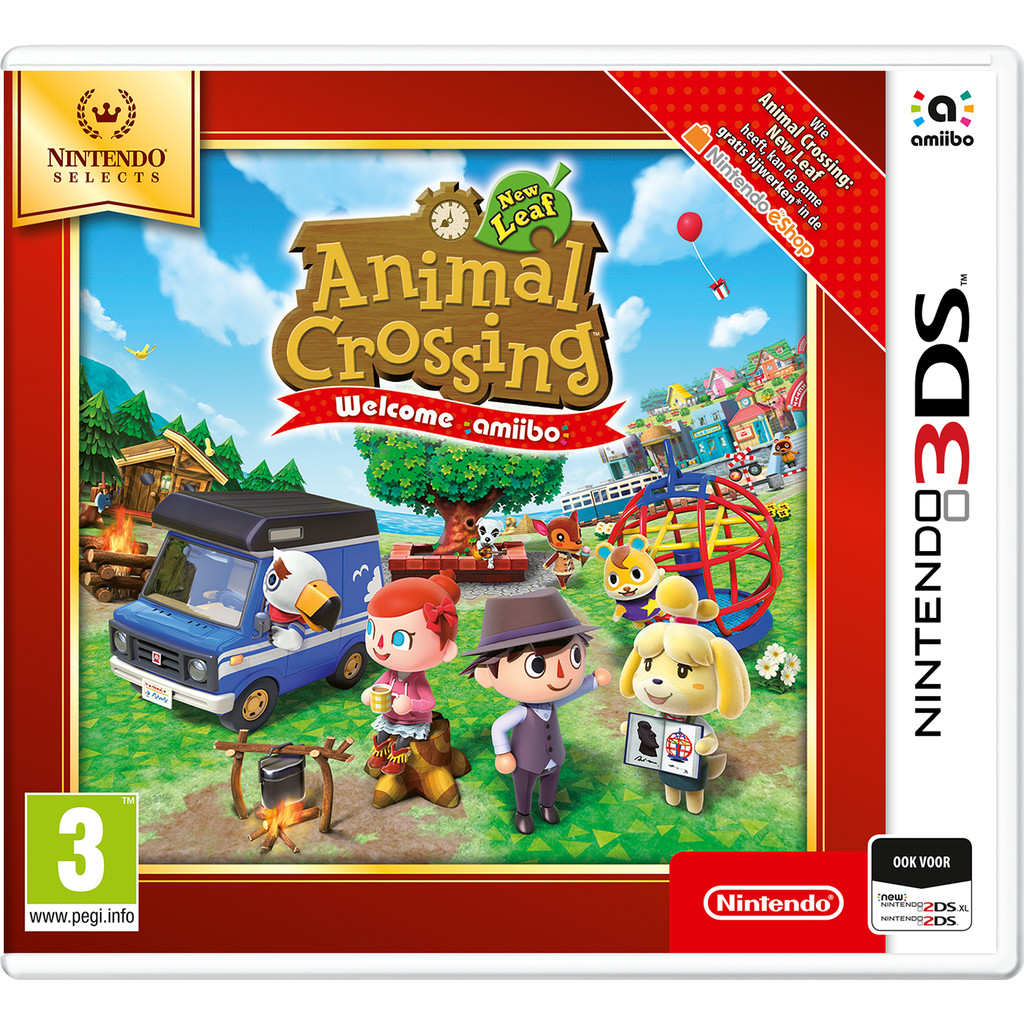 Animal Crossing New Leaf Select 3DS kopen