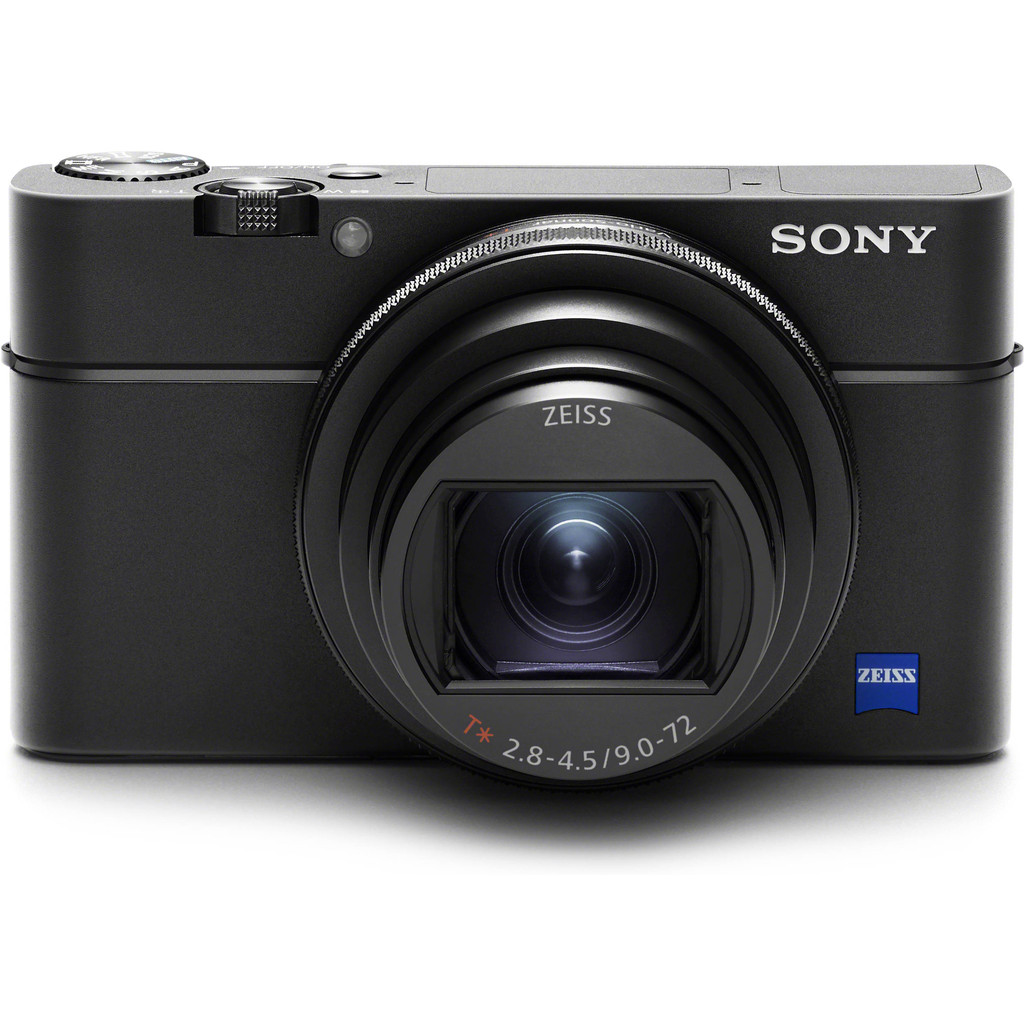Sony Cybershot DSC-RX100 VI-20,1 megapixels  8x optische zoom  Wifi, bluetooth en NFC