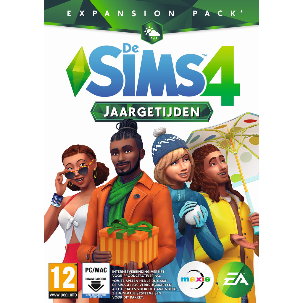 De Sims 4: Jaargetijden PC / MAC