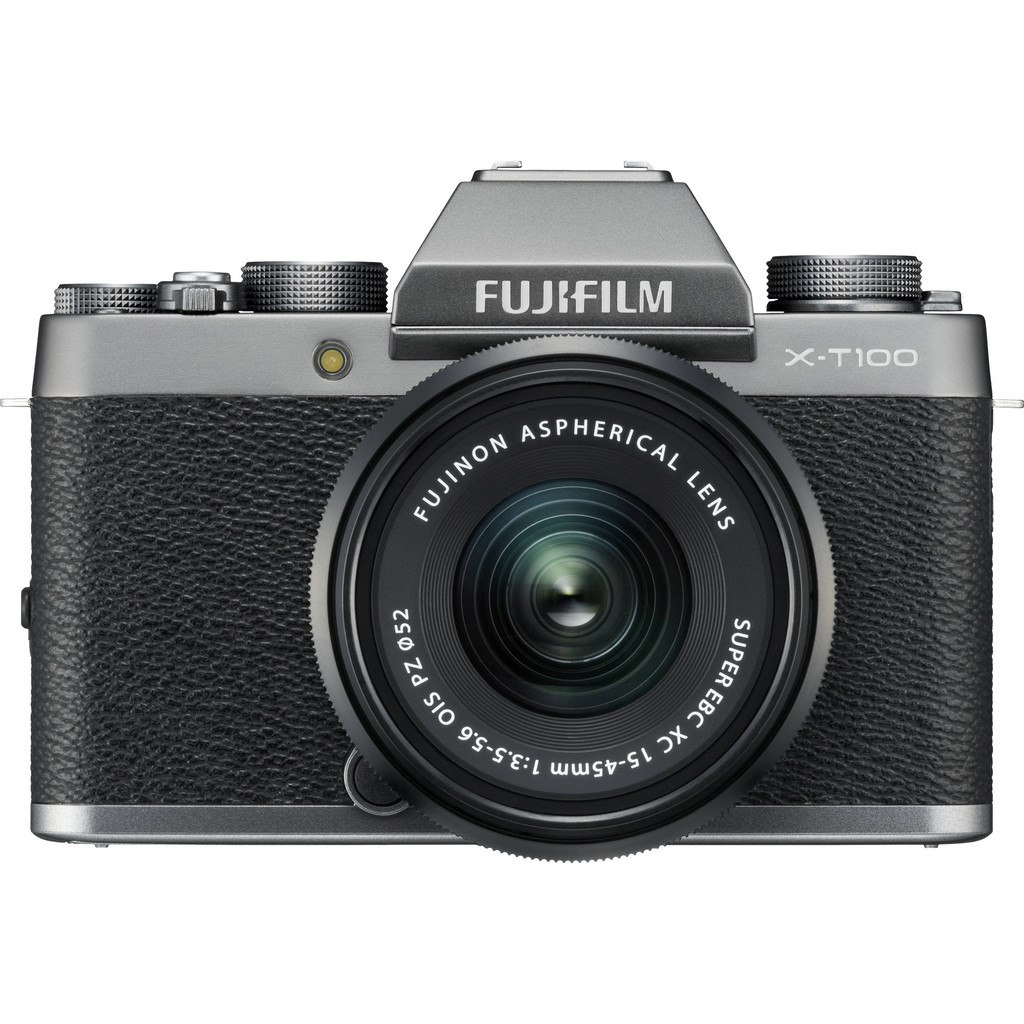 Fujifilm X-T100 Zilver + XC 15-45mm OIS PZ in Tarcienne