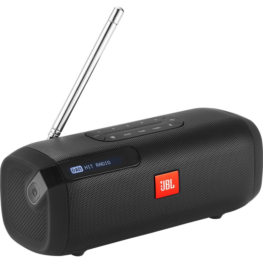 JBL Tuner Bluetooth luidspreker FM radio Zwart