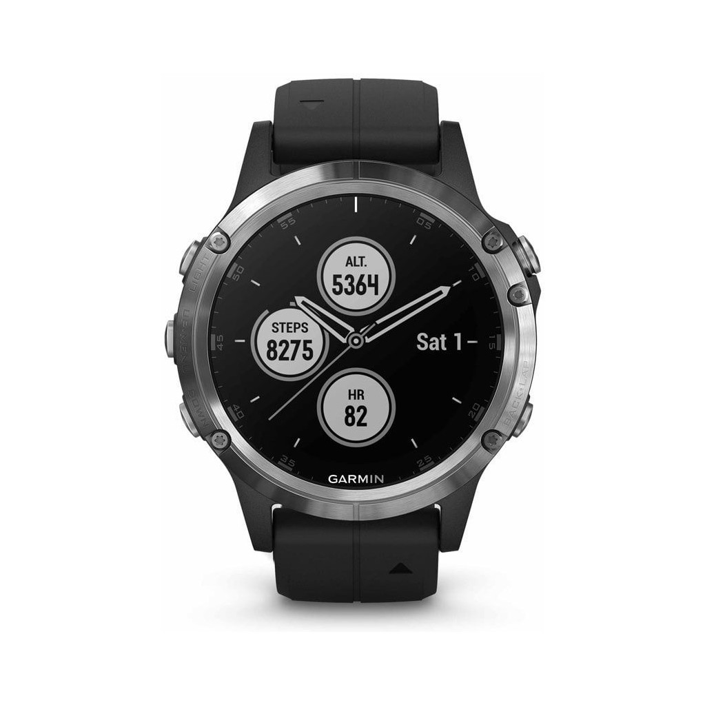 Garmin Fenix 5 Plus Zilver in Lasne-Chapelle-Saint-Lambert