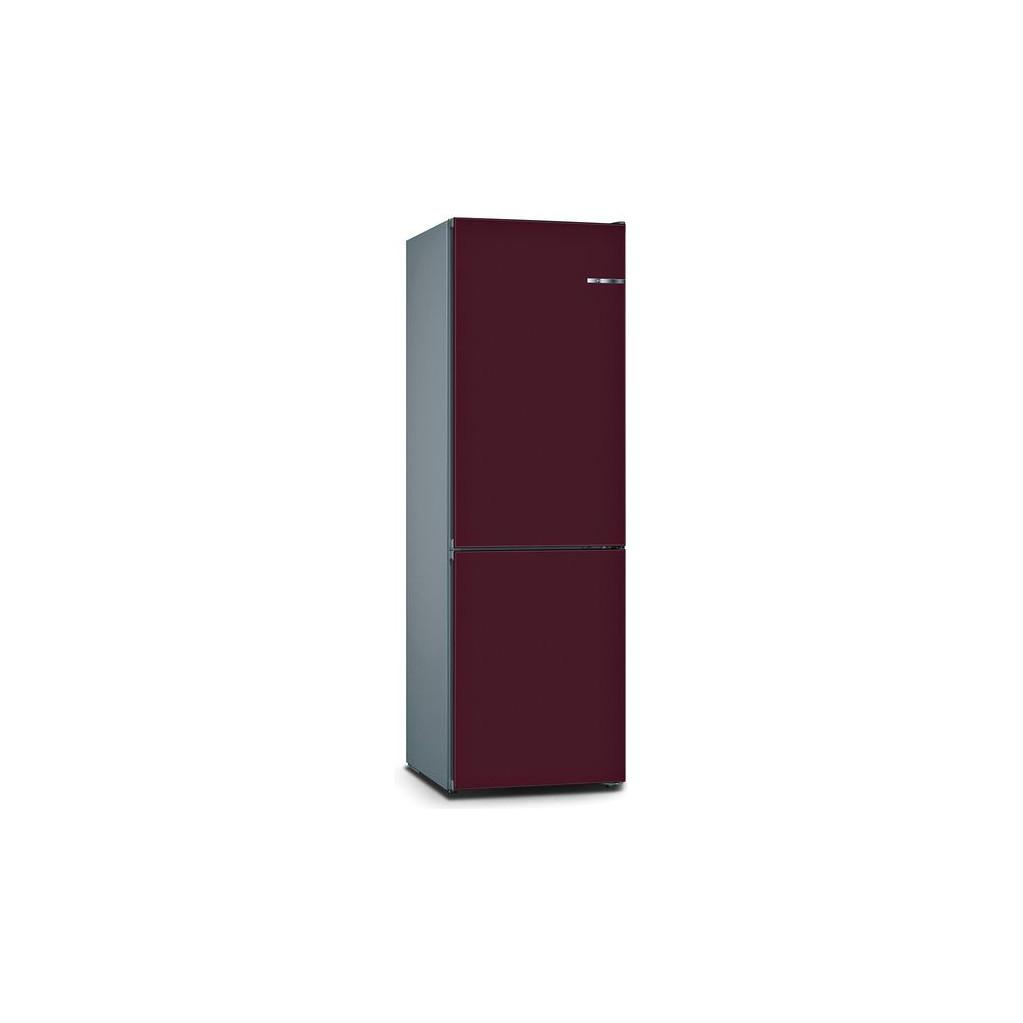 Bosch KGN39IJ4A Vario Style + Bosch KSZ1BVL00 pruimpaars