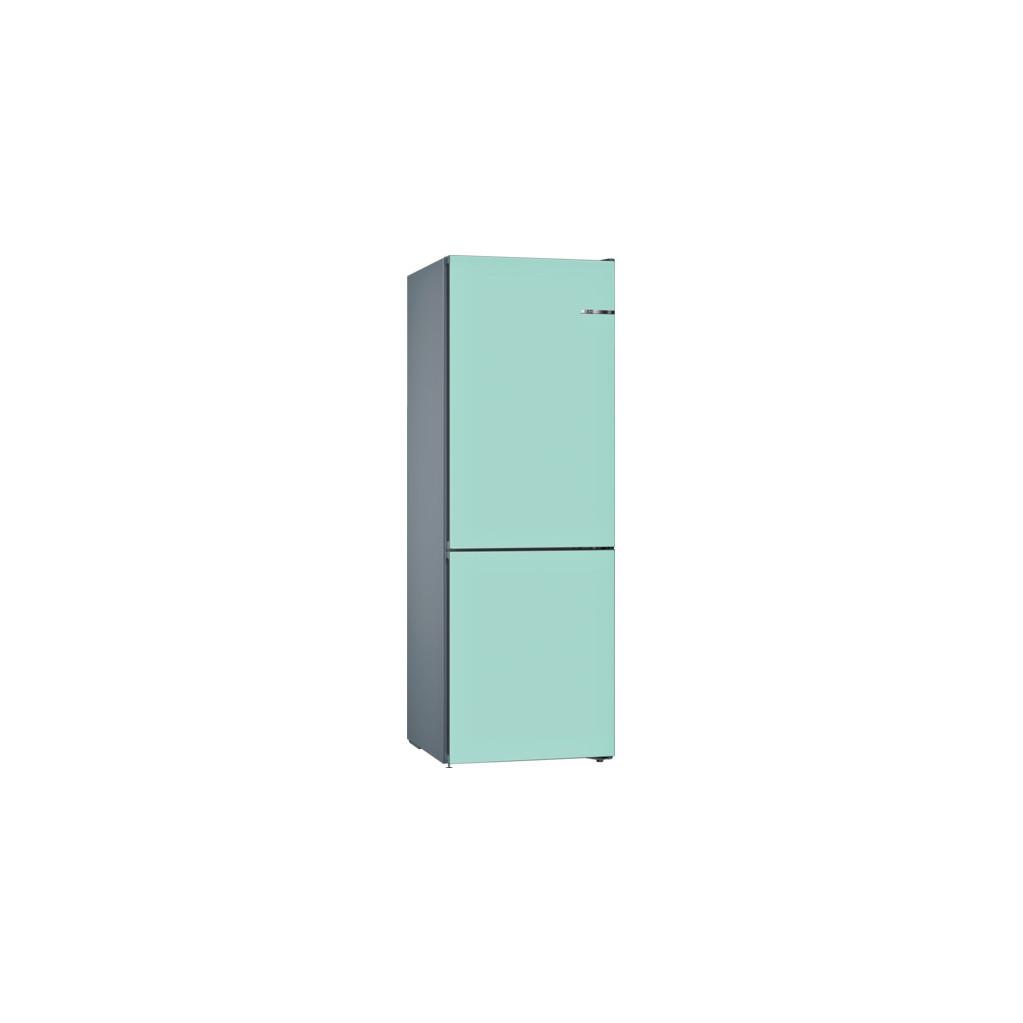 Bosch KGN39IJ4A Vario Style + Bosch KSZ1BVT00 pastelblauw