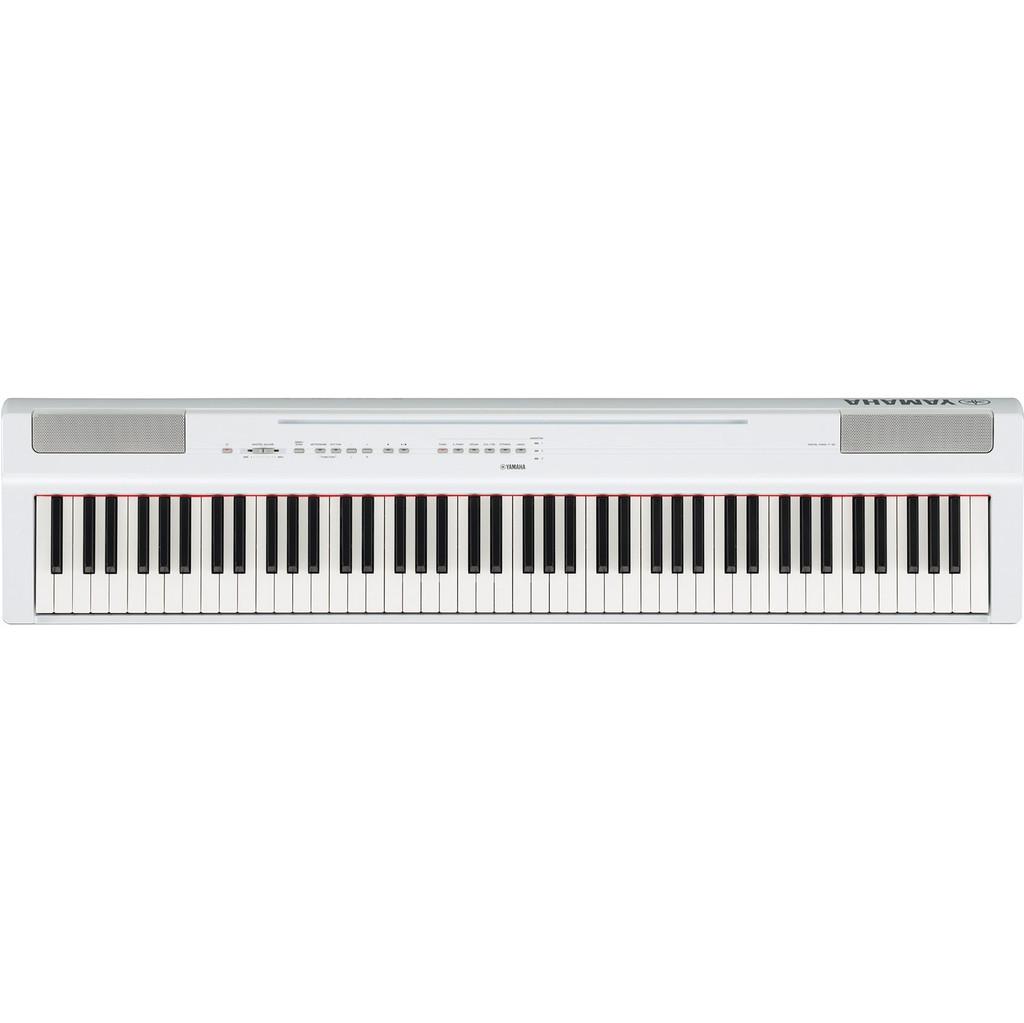 Yamaha P-125WH digitale piano wit