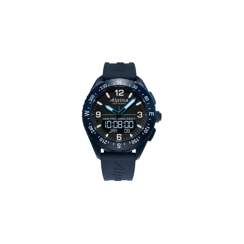 Afbeelding van Alpina AlpinerX Blauw slimme horloge