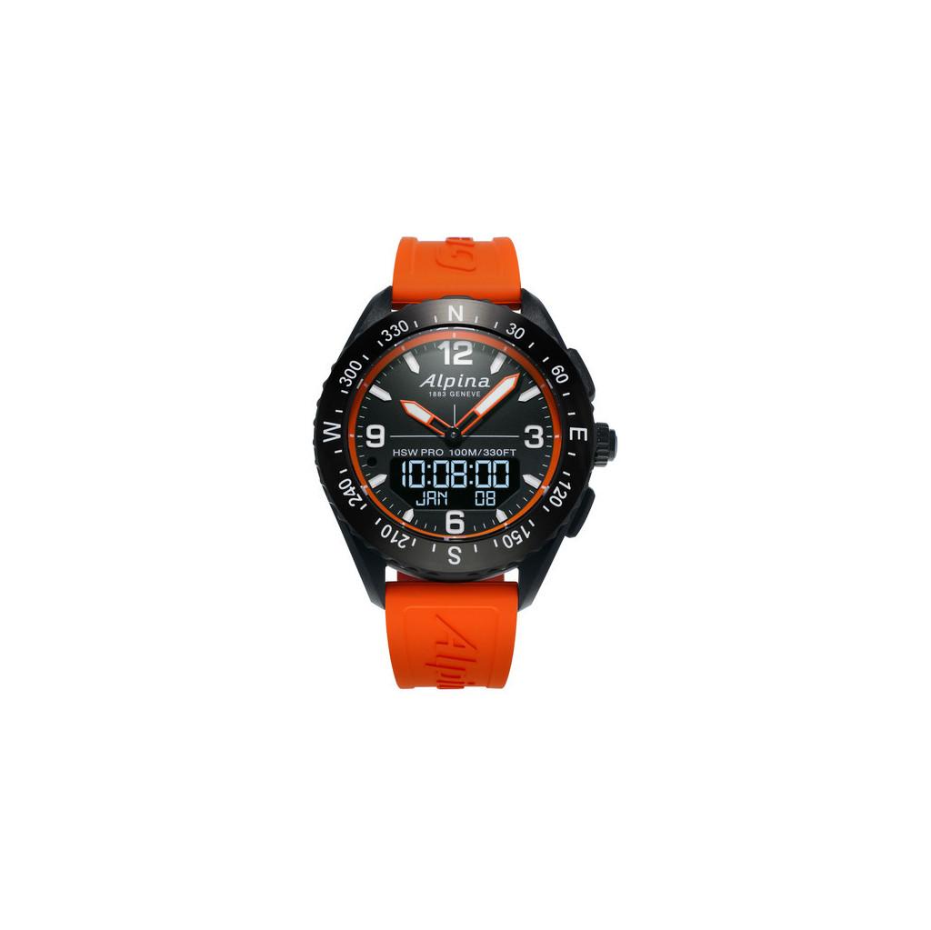 Afbeelding van Alpina AlpinerX Oranje slimme horloge