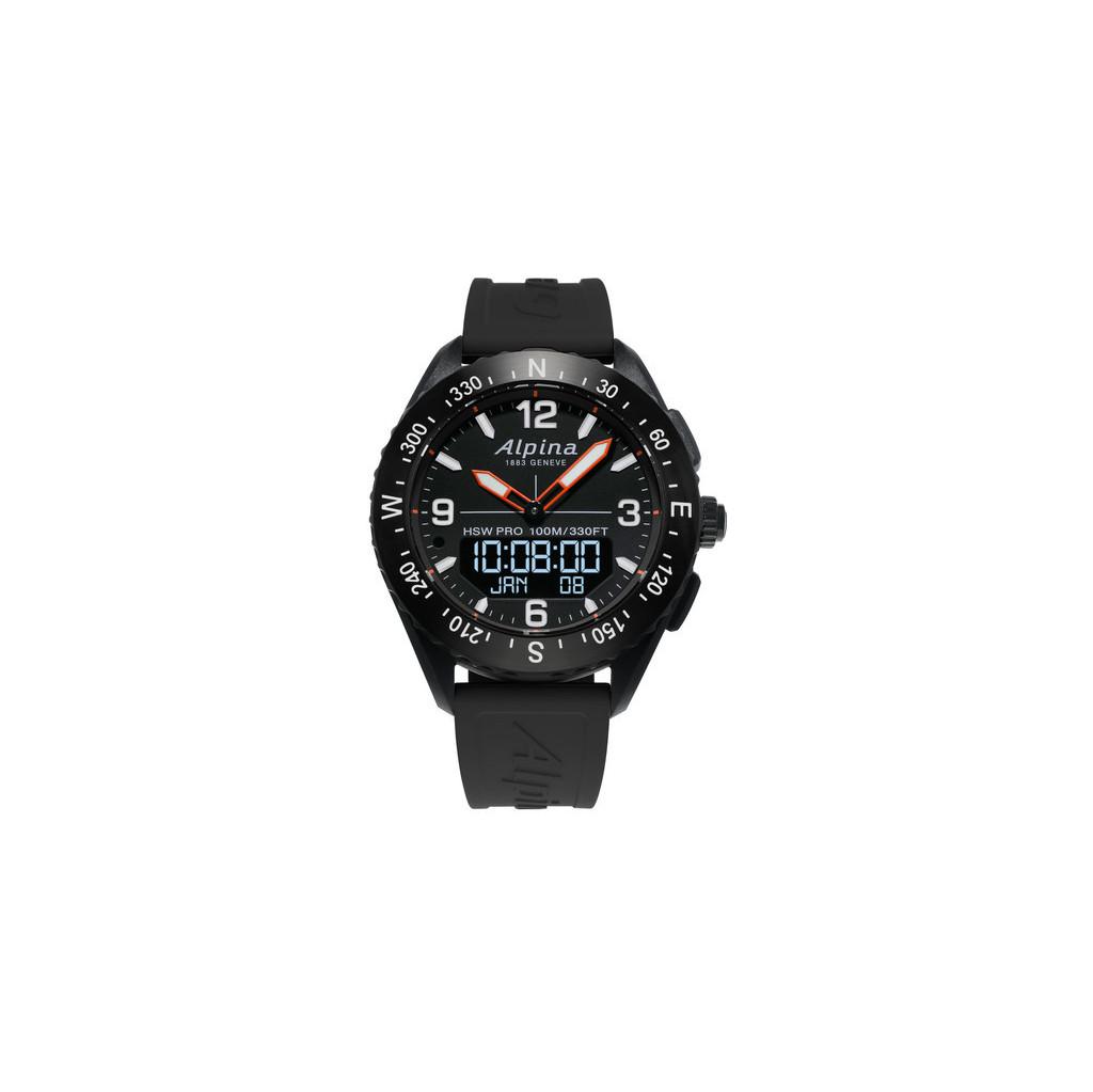 Afbeelding van Alpina AlpinerX Zwart slimme horloge