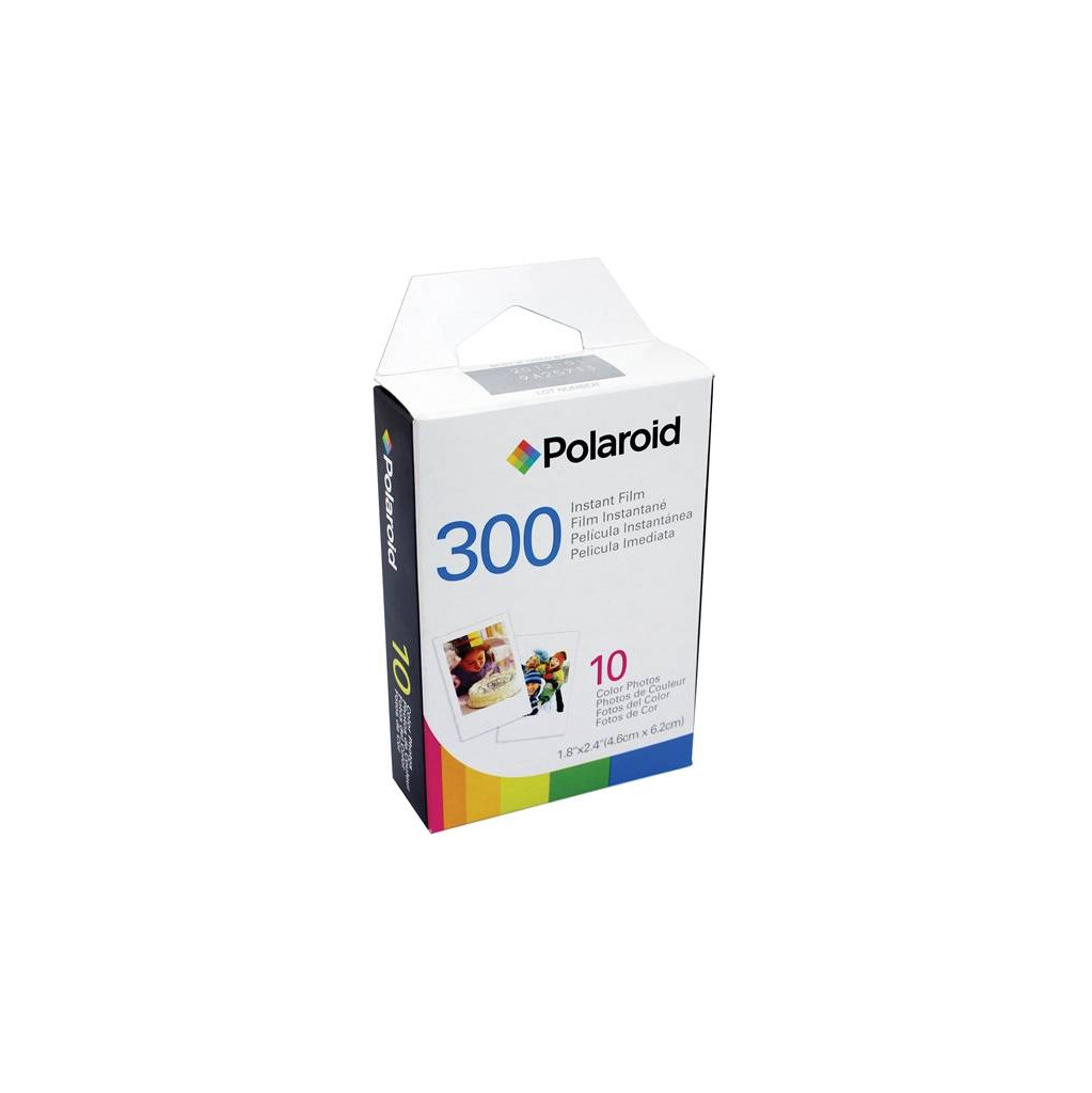 Polaroid 300 Instant Film in Rognée