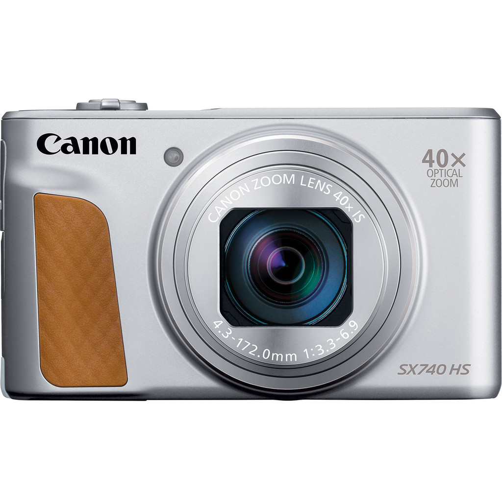 Canon Powershot SX740 HS compact camera Zilver